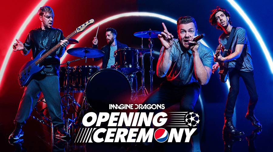 Imagine Dragons ще пеят на финала на Шампионска лига