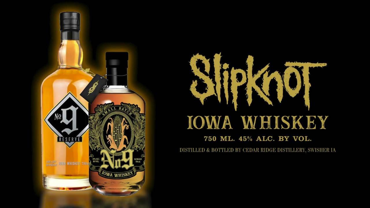 Последният месец SLIPKNOT разкриха подробности за тяхна собствена марка алкохол No. 9 Iowa Whiskey