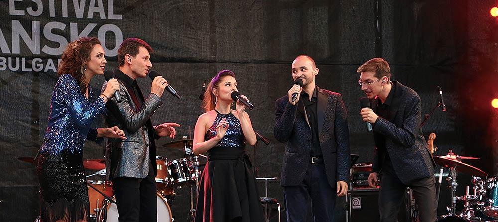 На 8-ми август Международният Джаз Фестивал в Банско започна с концерт на вокална група Спектрум