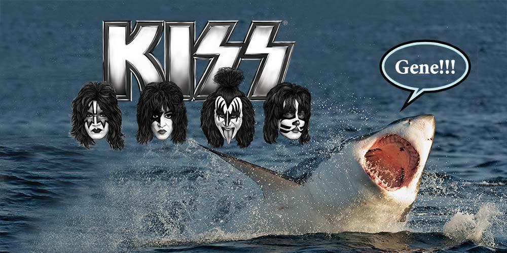Kiss ще забавляват с концерт големите бели акули | MMTV