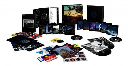 Сетът представлява 16 диска (5 x CDs, 6 x Blu-Rays, 5 x DVDs), включващи материали, създадени от David Gilmour, Nick Mason и Richard Wright от 1987 г. до сега.