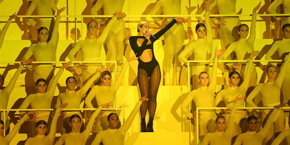 DUA LIPA откри наградите на MTV EMAS 2019 по грандиозен начин