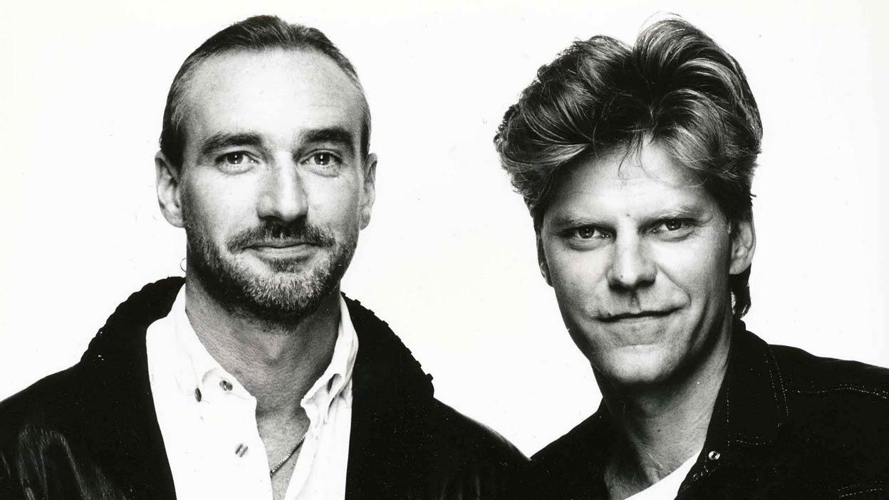 """John и Tom се срещат през средата на 70-те години и свирят заедно в групата """"The Starbox Band""""."""