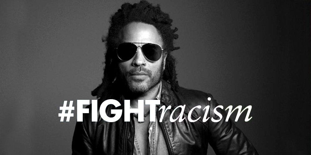 Here to Love на Lenny Kravitz - тематична за кампанията #FightRacism