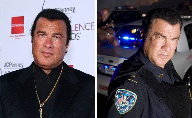 Steven Seagal работи като полицай