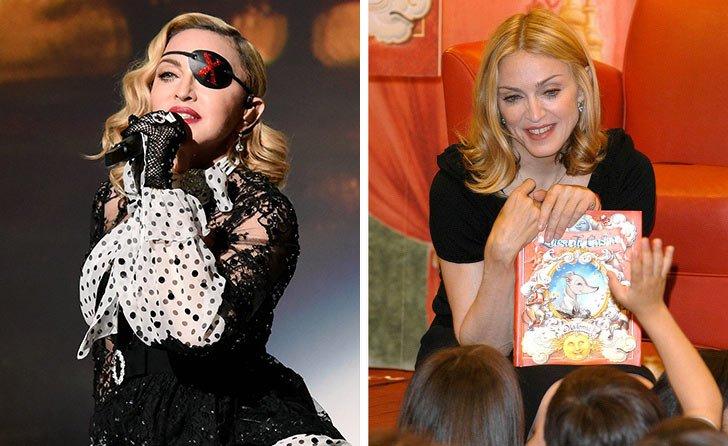 Madonna е автор на детски книжки