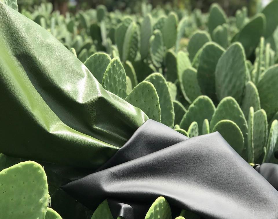 Desserto e частично биоразградима кожа и отговаря на техническите спецификации, изискани от модната индустрия
