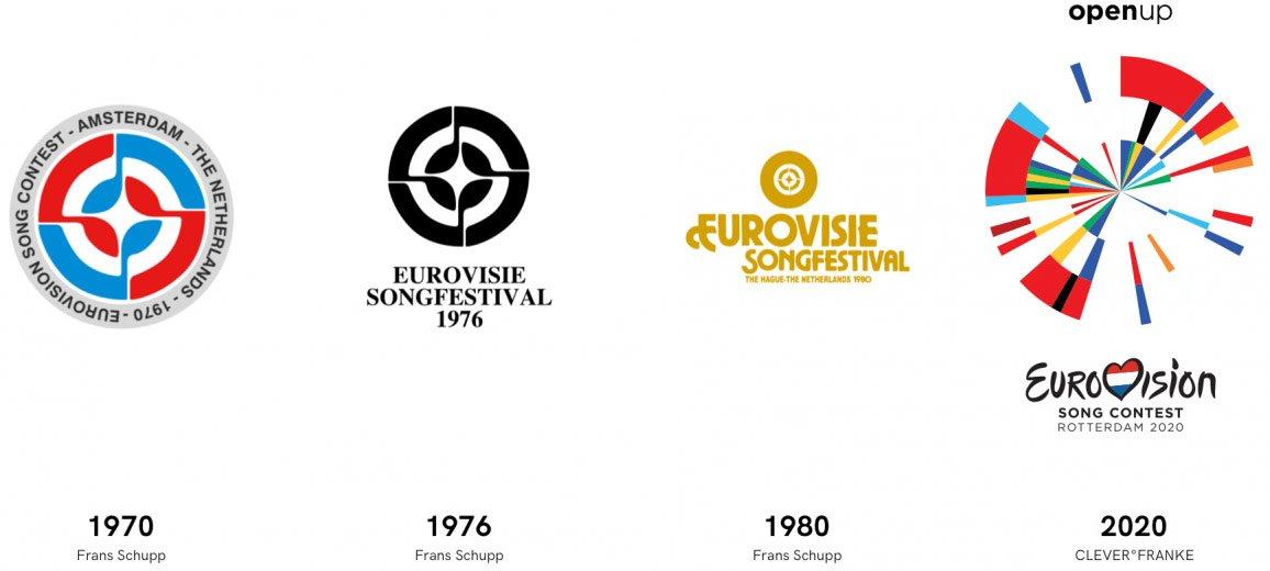 Графичната опаковка на конкурса логично продължение на дизайните от предишните домакинства на Холандия – през 1970, 1974 и 1980 година.