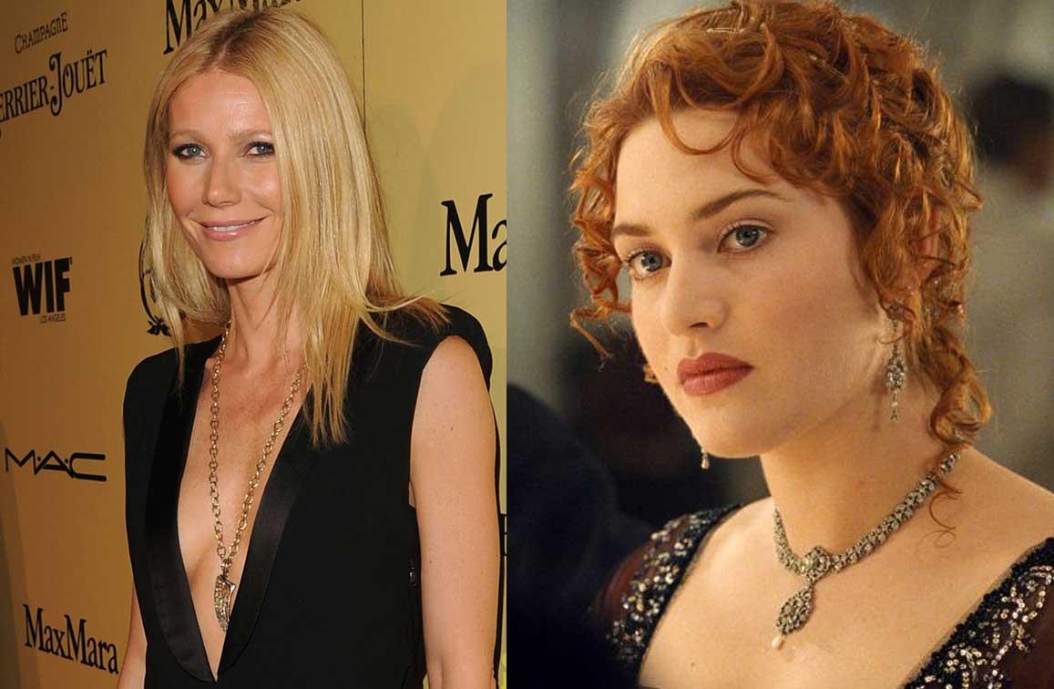 Гуент Полтроу е била сред кандидатите за главна женска роля във филма Титаник.