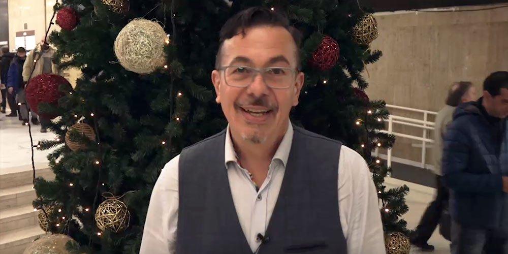 Коледно-новогодишен поздрав от Камен Алипиев | MMTV