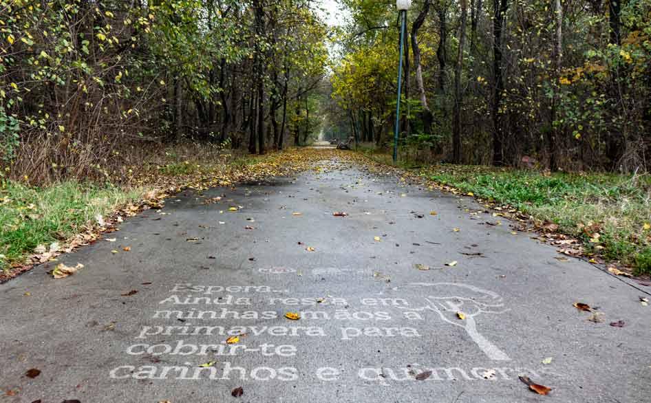 Жителите и гостите на града все още могат да бъдат приятно изненадани, ако попаднат на един от надписите във втория по големина град в България