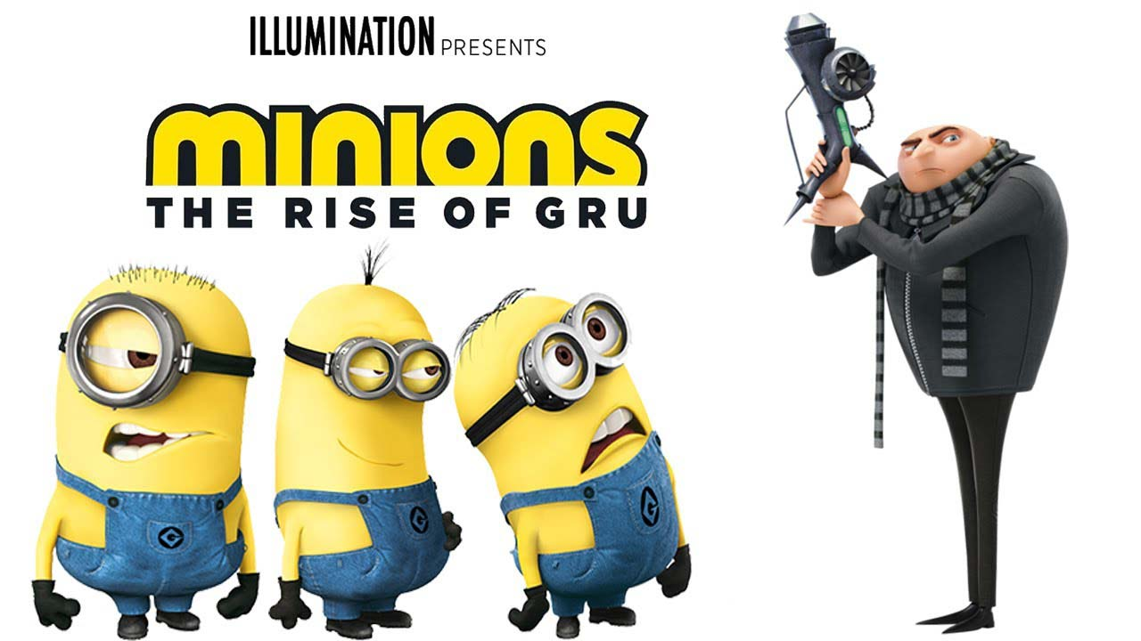 Minions: The Rise Of Gru - юли 2020 г.
