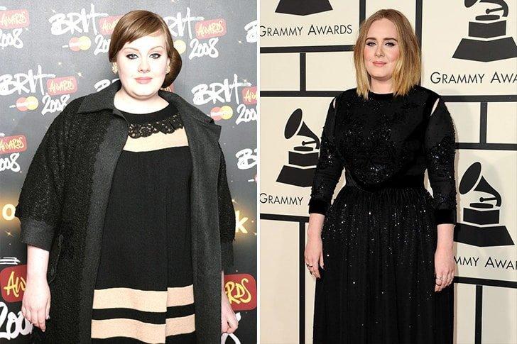 Adele - 10 звезди, които решиха да отслабнат драстично