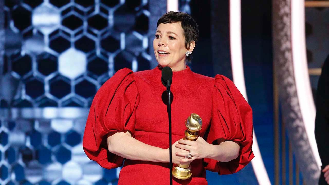 Olivia Colman - Best Actress in a Drama Series