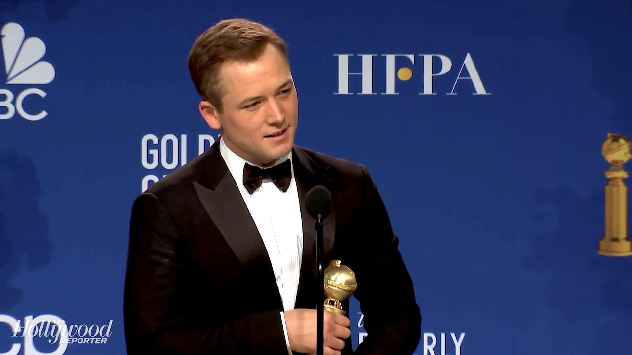 Taron Egerton - Best Actor in a Motion Picture – Musical or Comedy