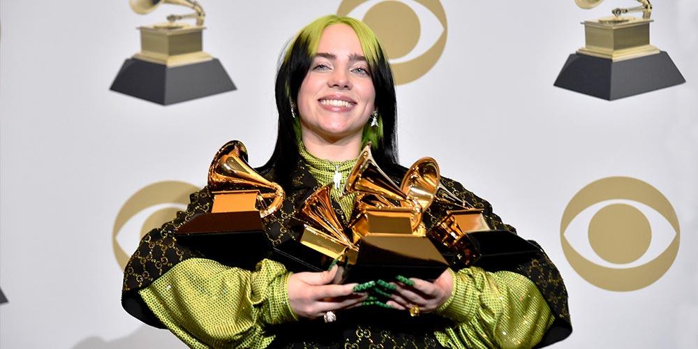 С 6 награди Billie Eilish е големия победител на Grammy 2020