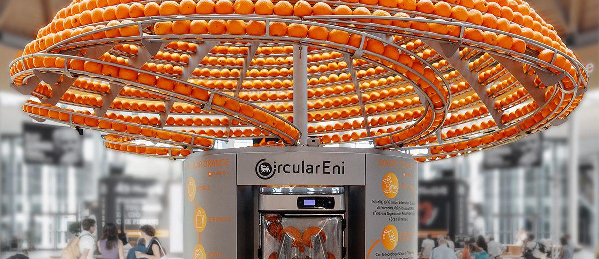 Биоразградими чаши от портокалови кори