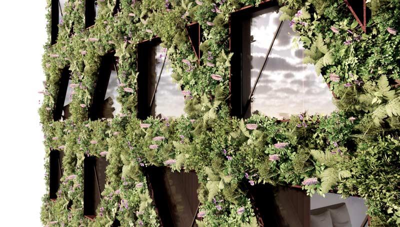 """""""Citicape House"""" ще бъде обвита от фасада с над 400 000 растения"""
