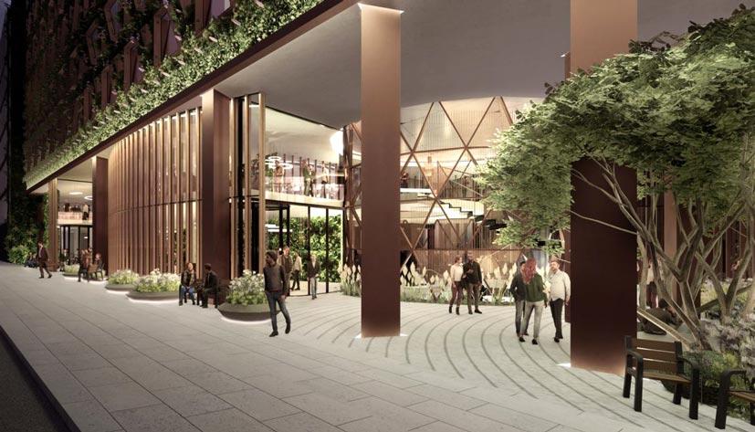 """Citicape House"" е проектирана от лондонското студио Sheppard Robson"