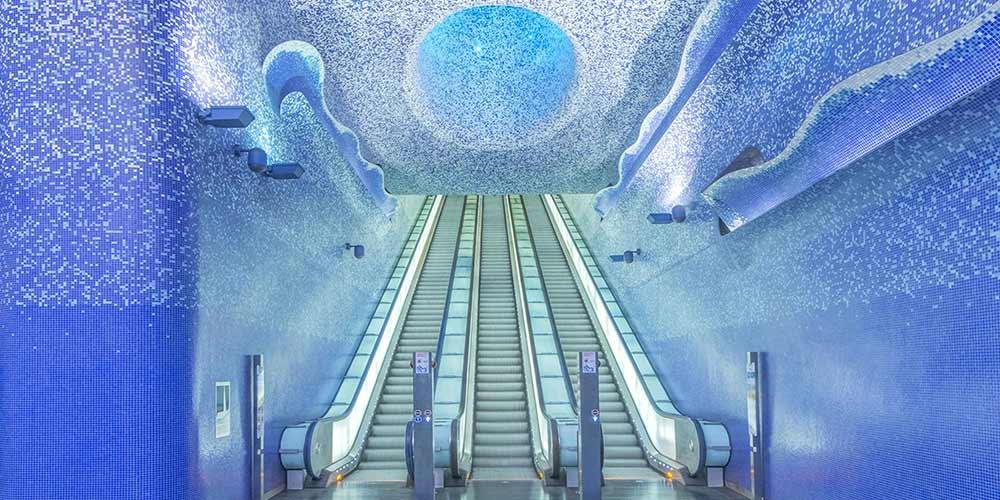 Най-красивите метростанции в света | Част 1