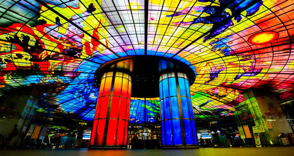 """Formosa Boulevard Station, Kaohsiung, Тайван"