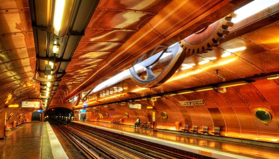 Arts Et Métiers Station, Париж, Франция