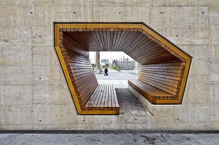 Най-интересните и нестандартни пейки в света