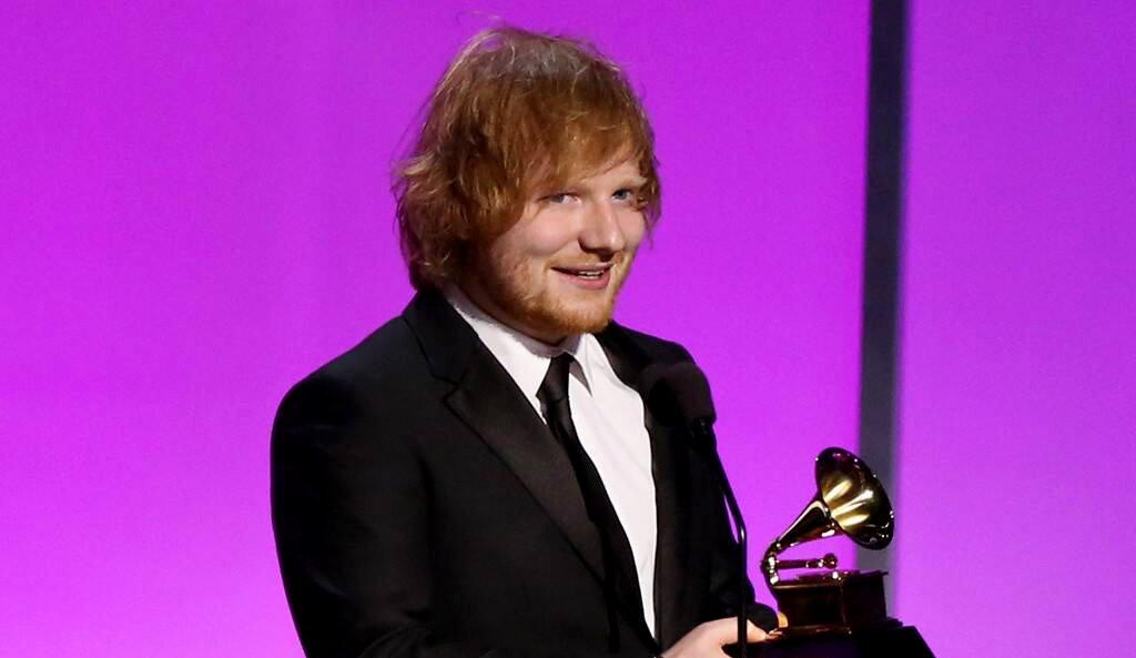 """През 2014 г. Ed Sheeran става """"Най-добър нов творец"""" на 56-ите награди Грами"""