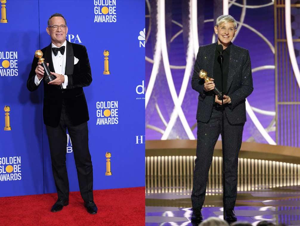 Тази година с почетна награда Cecil B. deMille Award за цялостен принос бе отличен осемкратният носител на Златен Глобус Tom Hanks. Другият носител на награда за цялостен принос бе Ellen DeGeneres, която получи наградата Carol Burnett Award