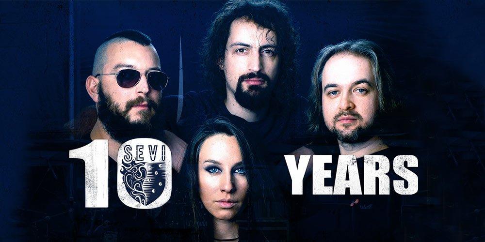 С голям концерт и ново видео SEVI честват 10 години на сцена!