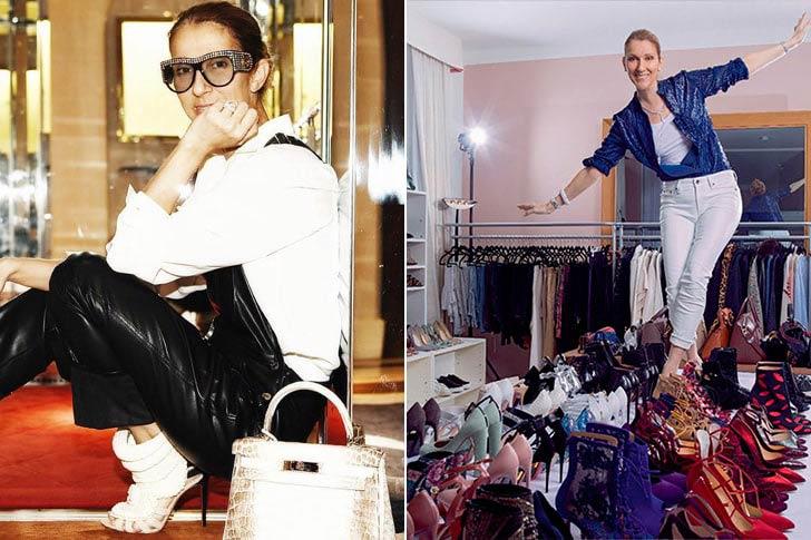 Celine Dion - Над 3000 чифта обувки
