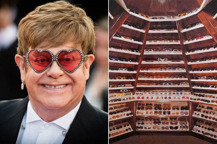 Elton John - 250 000 чифта слънчеви очила