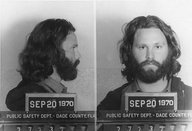 Jim Morrison's Mugshot
