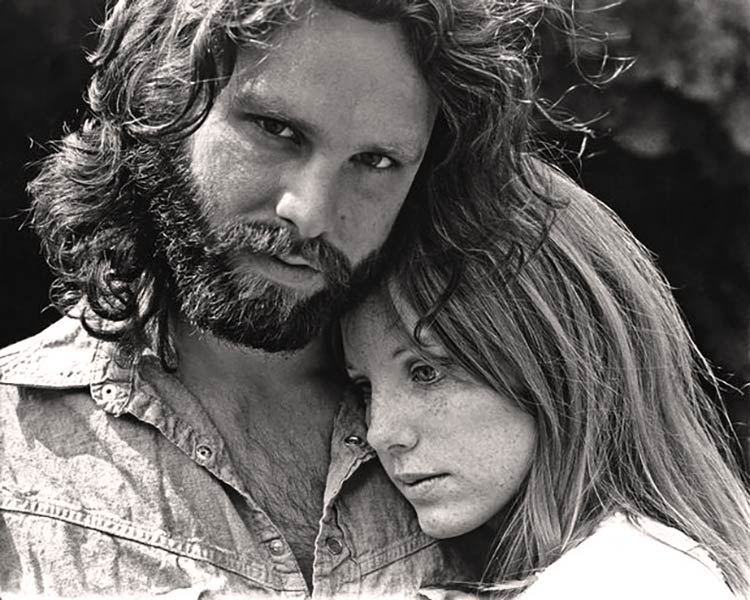 Jim Morrison with Girlfriend