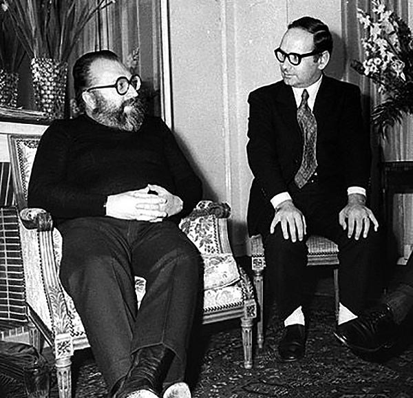 Sergio Leone meets Ennio Morricone