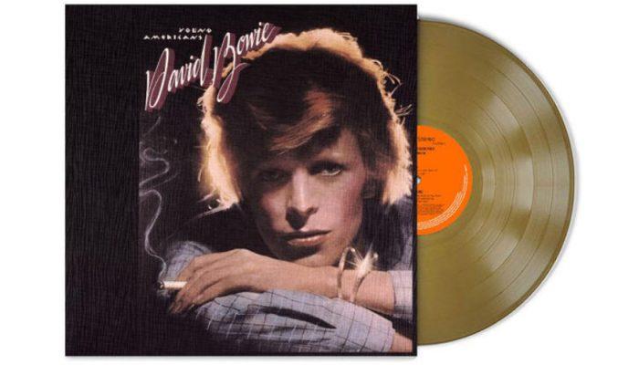 Албумът Young Americans на David Bowie излиза на златна плоча