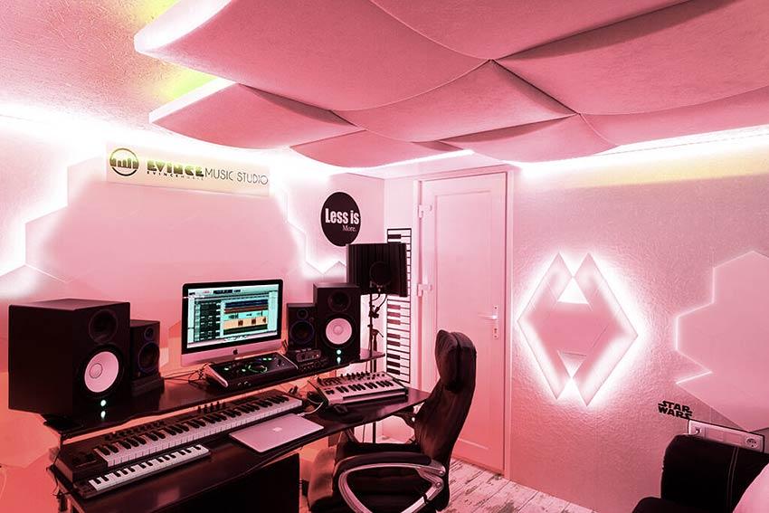 studio with star wars theme