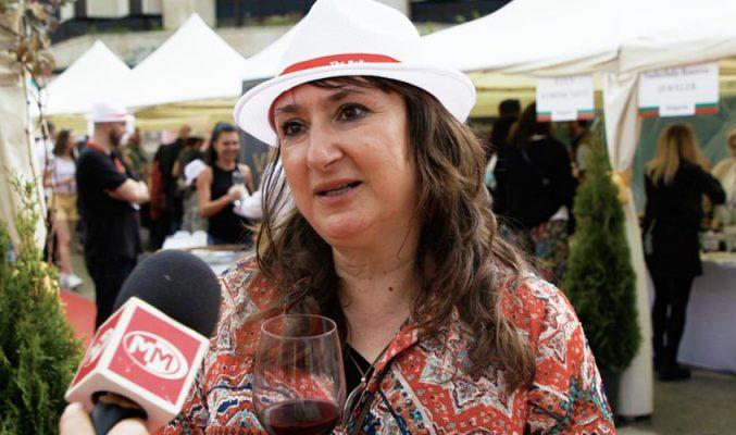 Интервю с Галина Нифуро зa Балканския винен фестивал